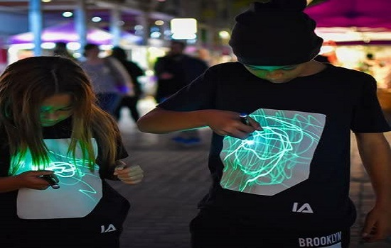 Camisetas con luz para Tik Tok