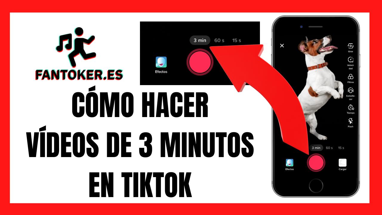 Aprende cómo hacer un vídeo de 3 minutos en tu app de Tik Tok